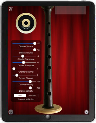 MIDI Bagpipes Chanter App Icon